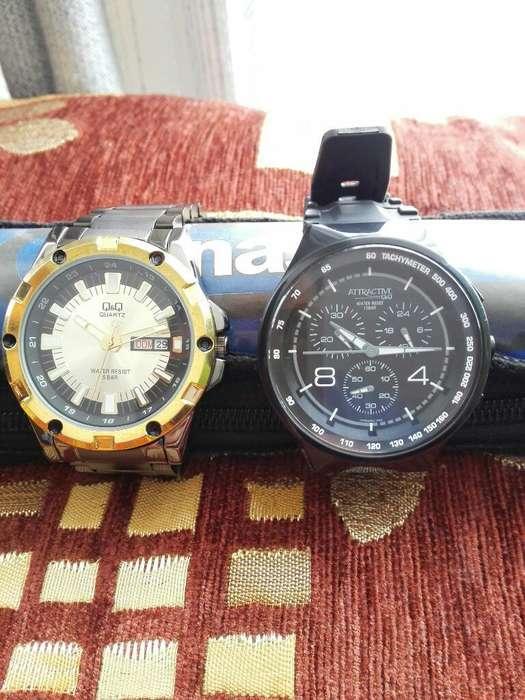 Relojes Vendo Los Dos. Estado 10de10.