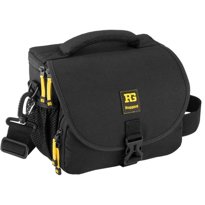Maletin estuche forro camara <strong>digital</strong> Ruggard Commando 25 DSLR Shoulder Bag Psb125b (NUEVO)