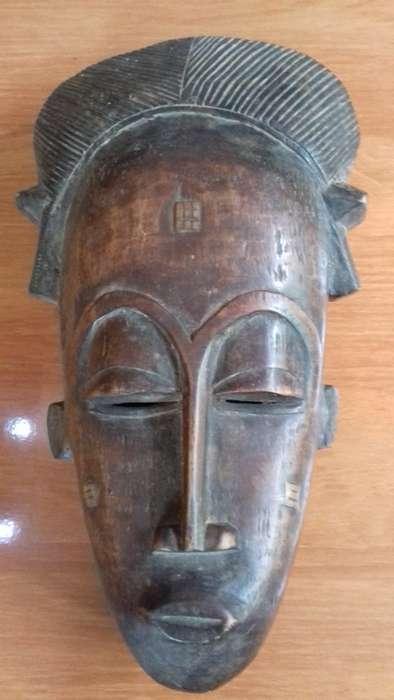 Auténtica máscara africana