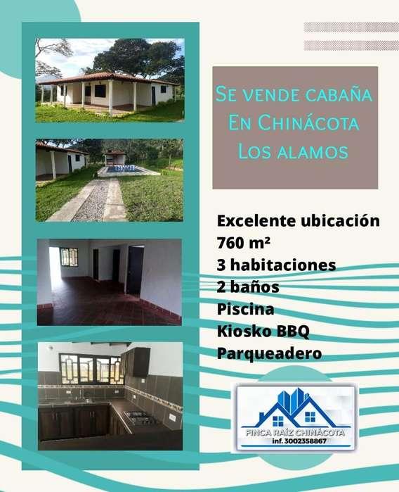 Se Vende Cabaña en Chinácota