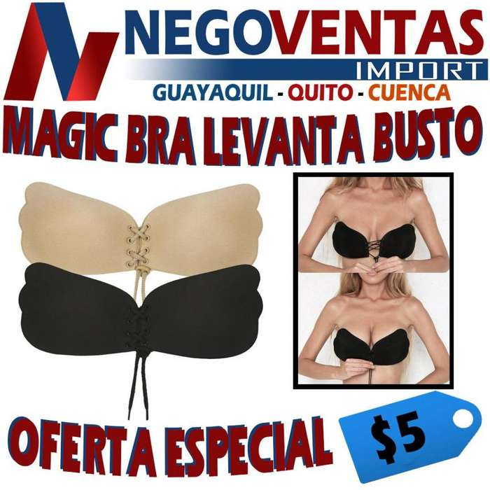 MAGIC BRA SOSTEN INVISIBLE TIPO LEVANTA BUSTO