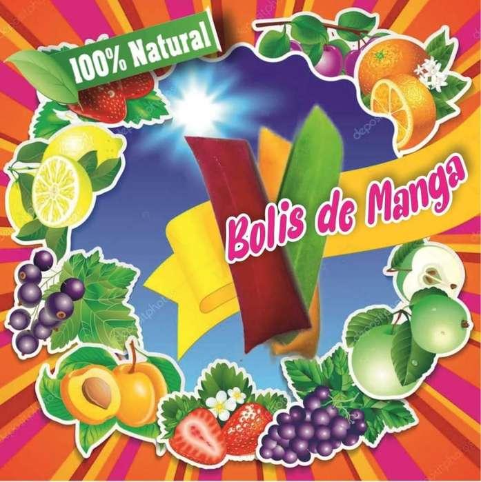 BOLIS DE MANGA NATURALES