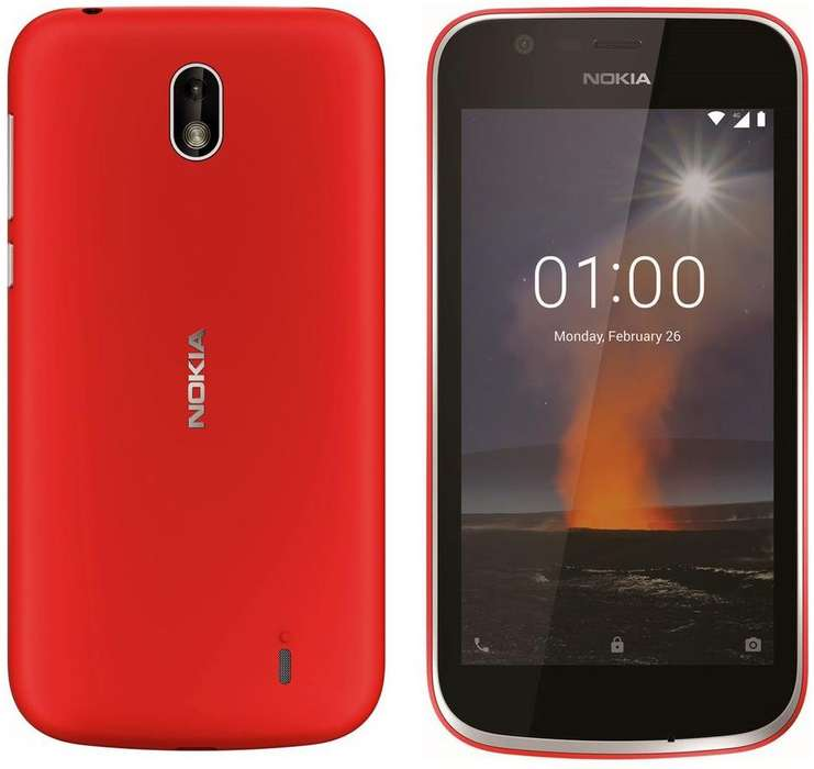 NOKIA 1 (8GB) 5.000 // Nuevos, libres, en cajas completos // Whatsapp al 2612188400