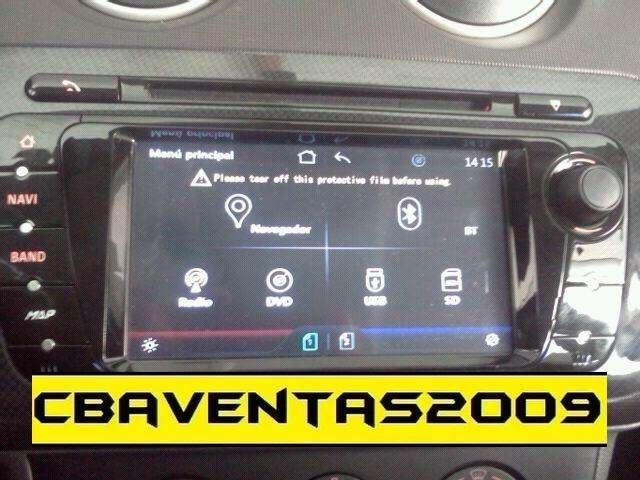 Estereo CENTRAL MULTIMEDIA STEREO PANTALLA <strong>seat</strong> IBIZA Gps Android Bluetooth