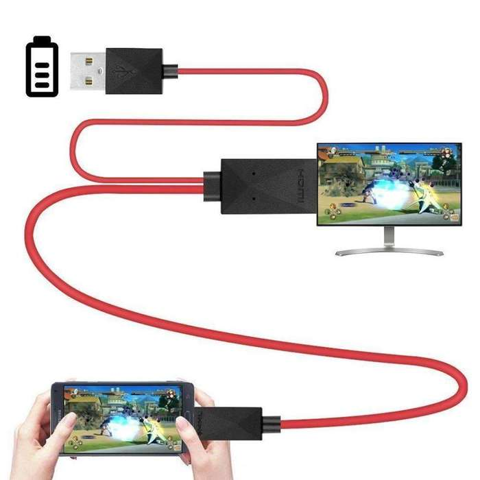 Cable Adaptador Micro Usb Hdmi Hd Tv Mhl