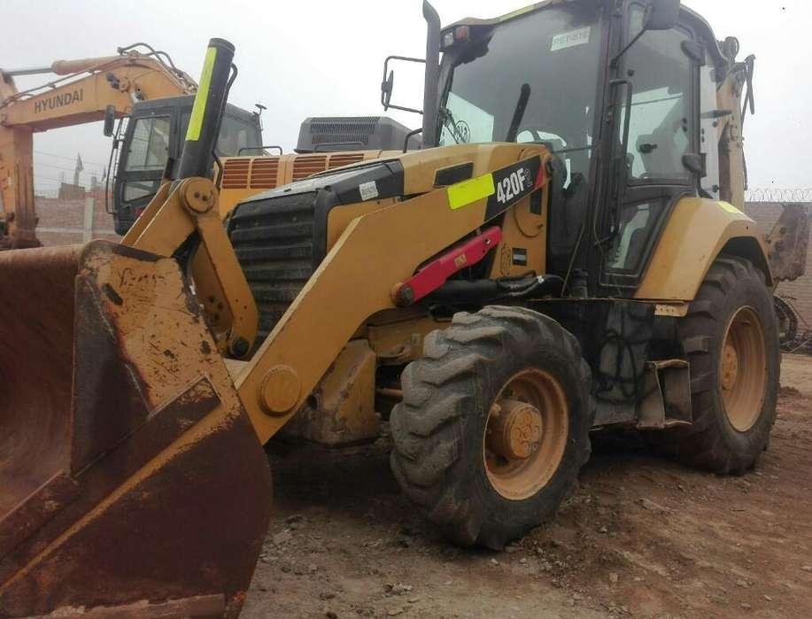Retroexcavadora Cat 420f2 2015, <strong>4x4</strong>, Ext