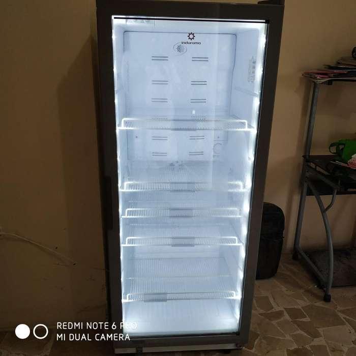 Refrigeradora Panorámica Indurama Blanca