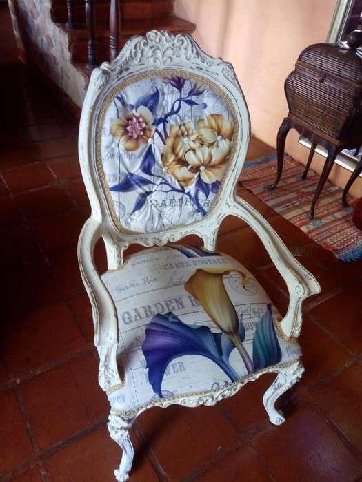 Vendo Silla Luisxv Antigua