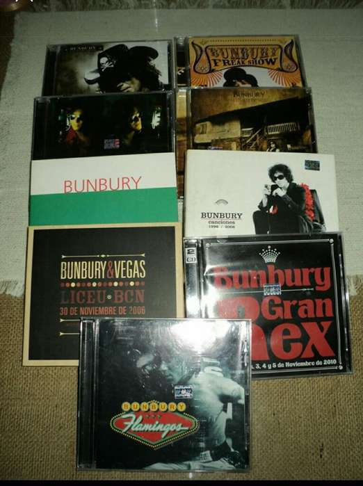 Cds Bunbury Originales