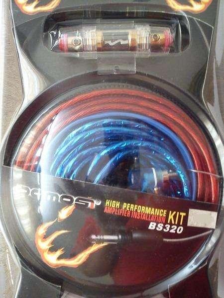 kit de cable para audio de auto