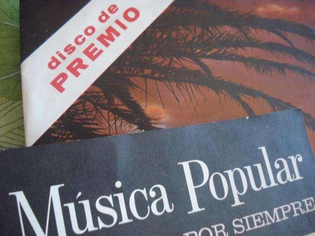 11 LP DISCOS MUSICA POPULAR QUE VIVIRA POR SIEMPRE COLECCION