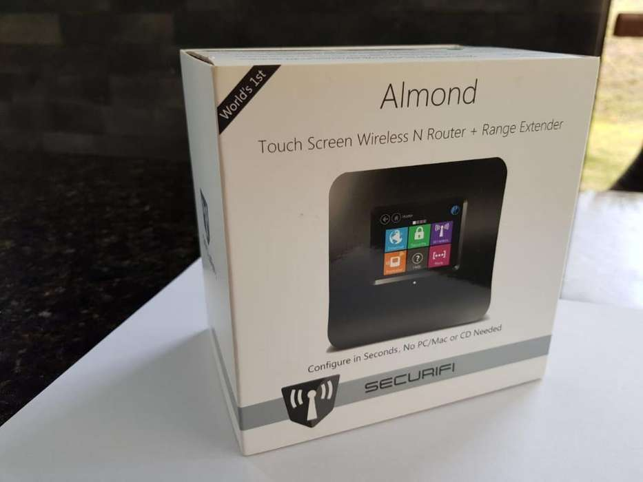 Router Almond Tactil