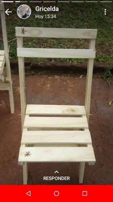 Bendo <strong>silla</strong>s Plegables 6 por 3500
