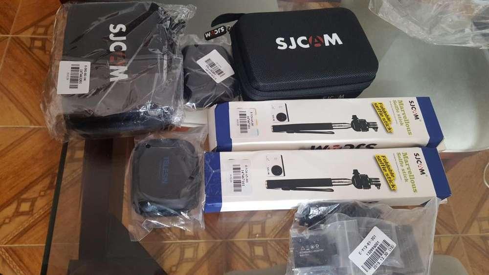 <strong>accesorios</strong> PARA SJCAM Y GOPRO 3,4 ORIGINALES BATERIAS SJ CAM 4000 NUEVOS!