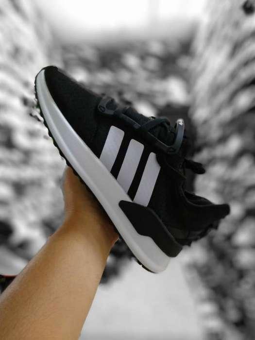 Adidas Negr Bl Caballero Y Mujer /7