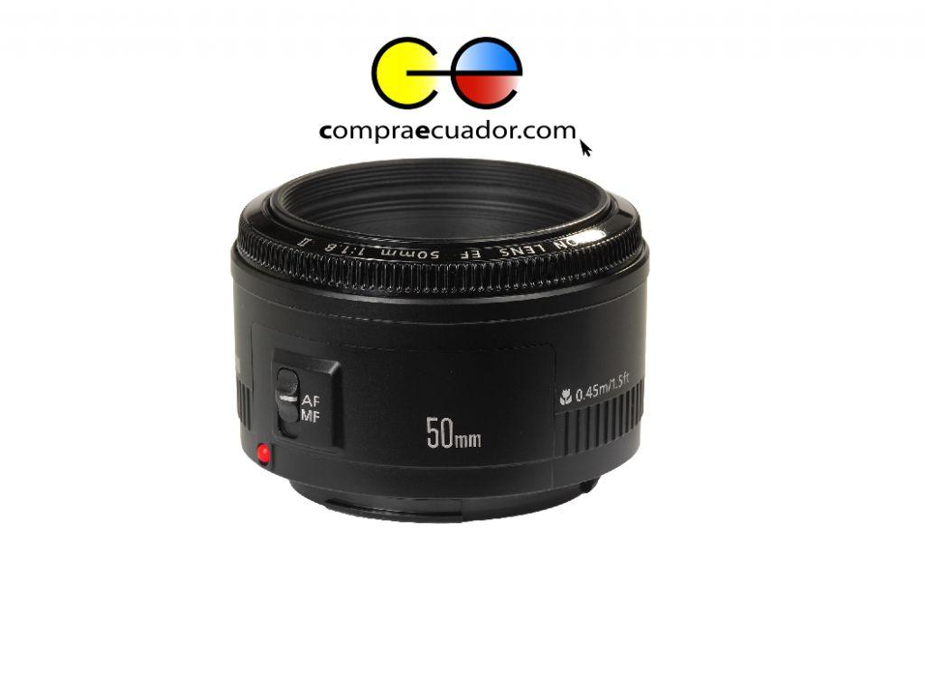 CANON Lente de Camara Profesional 50mm F/1.8 Autoretrato