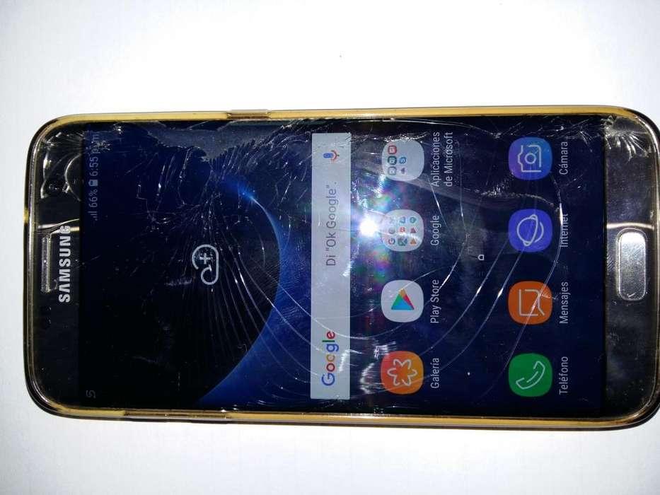 OPORTUNIDAD VENDO EN LA PLATA <strong>samsung</strong> Galaxy S7 Edge Caja Completo LIBERADO - vidrio astillado
