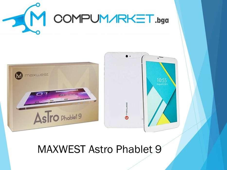 Tablet Celular Maxwest Astro Phablet 9 nuevo y facturado