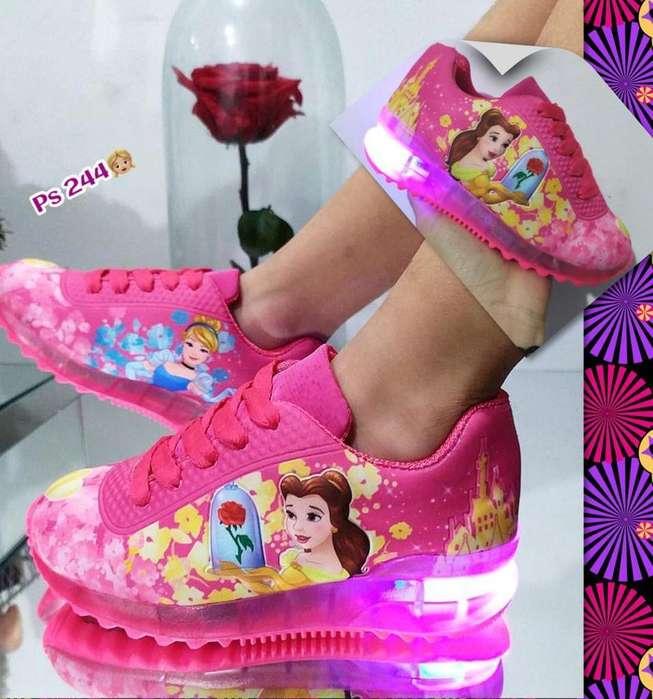 Zapatos Luces