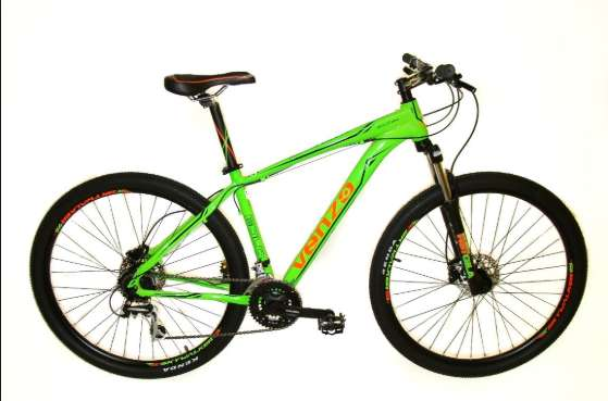 LIQUIDACION Bicicleta Rodado 29 Venzo Eolo 24 vel Frenos Disc Hidraulico