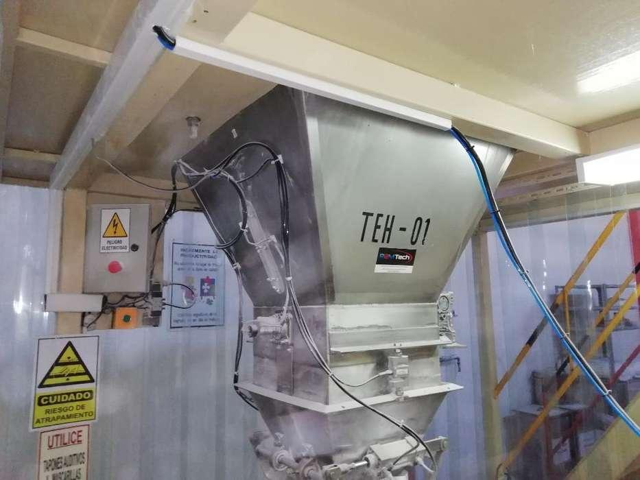 Fabricación de Máquinas para Envasado