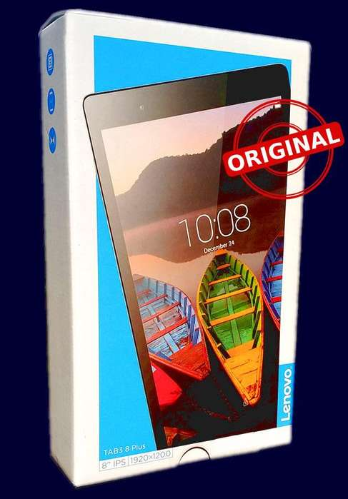Tablet Lenovo P8 TAB3 8 plus 1920x1200 3GB RAM Octa Core 2.0GHz 4G DUAL SIM Nuevo Entrega INMEDIATA