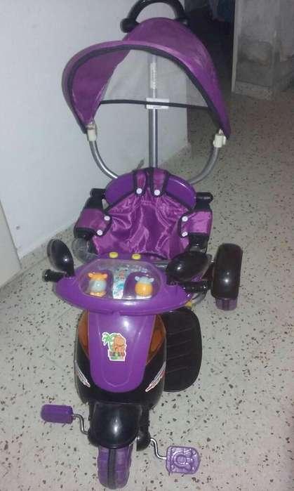 Triciclo de Bebe a 3-4 Años