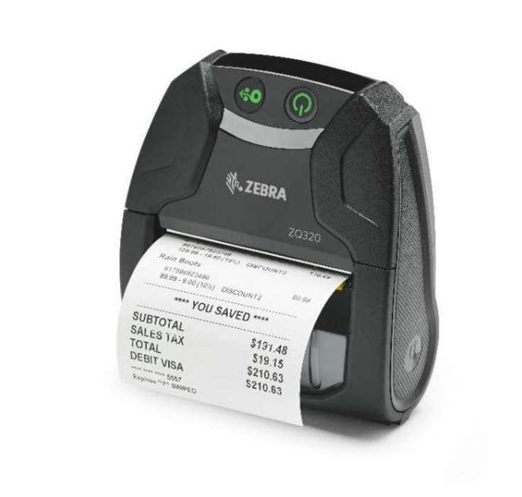 Impresora Termica Zq320 Marca Zebra