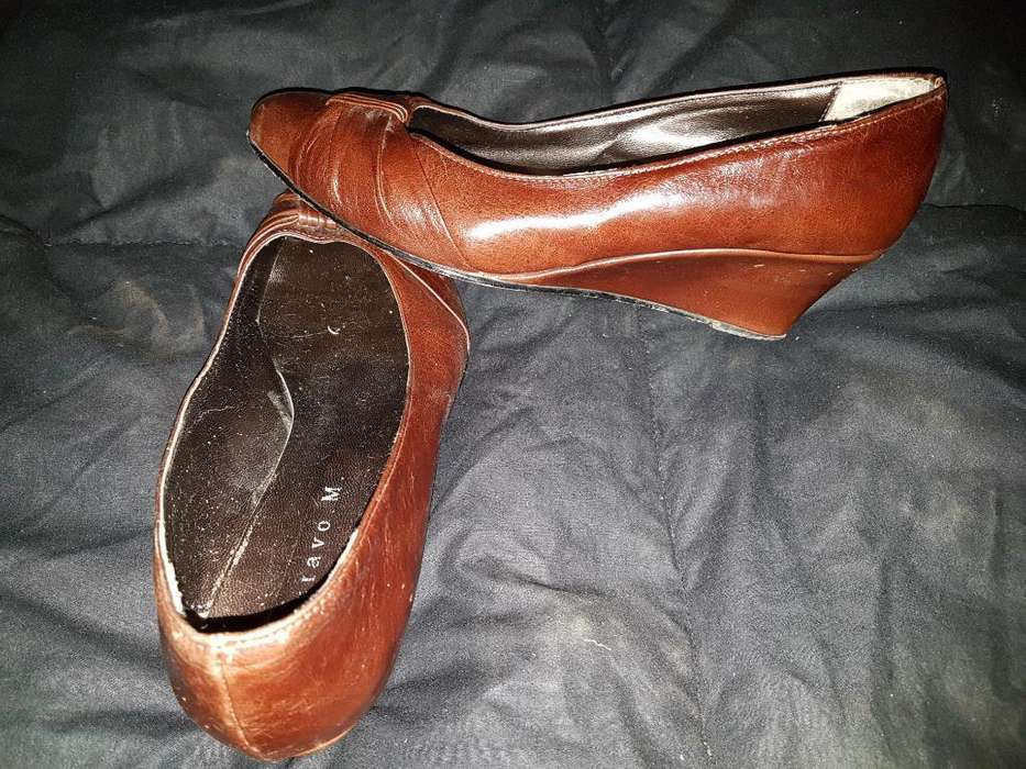 Zapatos Taco Chino 37
