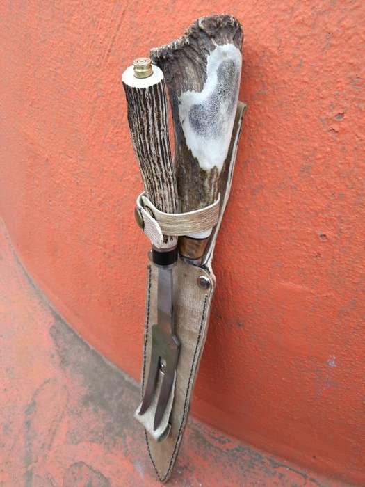 Cuchilla Tenedor Hoja de 30 Cm Y Pinche.