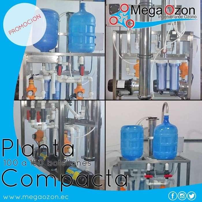 Planta llenadora de 150 a 300 botellones al dia