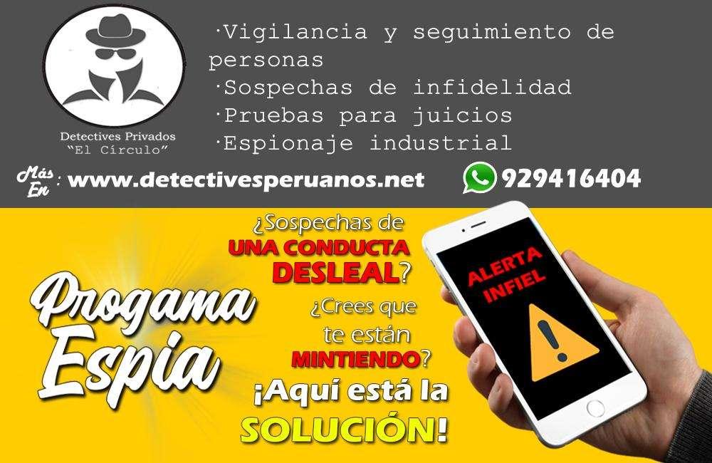 INFIDELIDAD - SEGUIMIENTO - ESPIONAJE - DETECTIVES - PROGRAMAS ESPÍAS