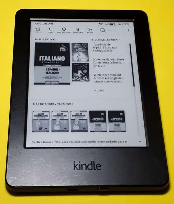 Kindle (Libro Electronico) Oferta!!