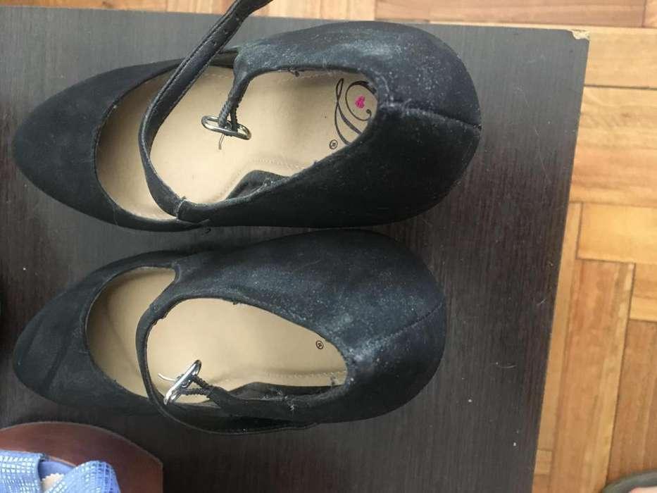 Zapatos de vestir taco aguja