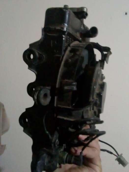 Radiador con Electro de Honda Transalp