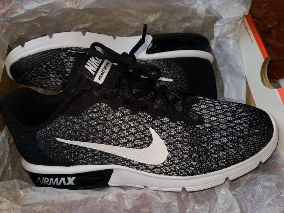 zapatillas nike sequent 2 air max nuevas en caja talla 41 usa 8 originales