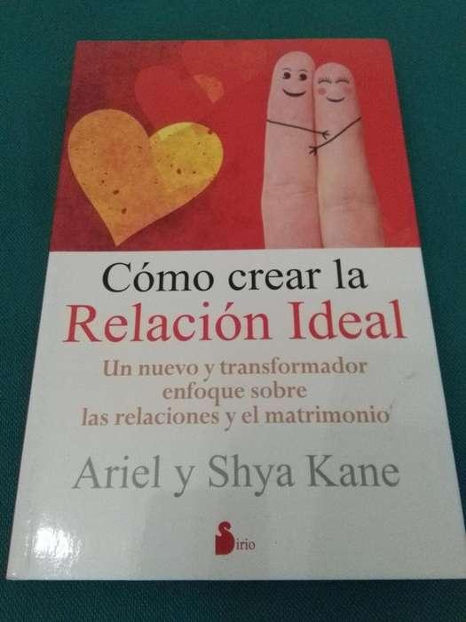 COMO CREAR LA RELACION IDEAL . ARIEL Y SHYA KANE . LIBRO EN PERFECTO ESTADO