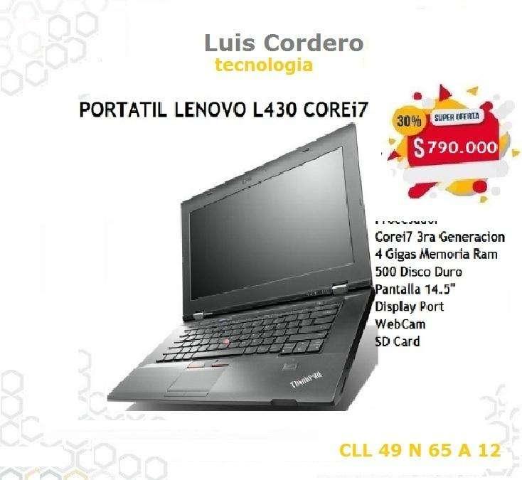 PORTATIL LENOVO THINK PAD L430