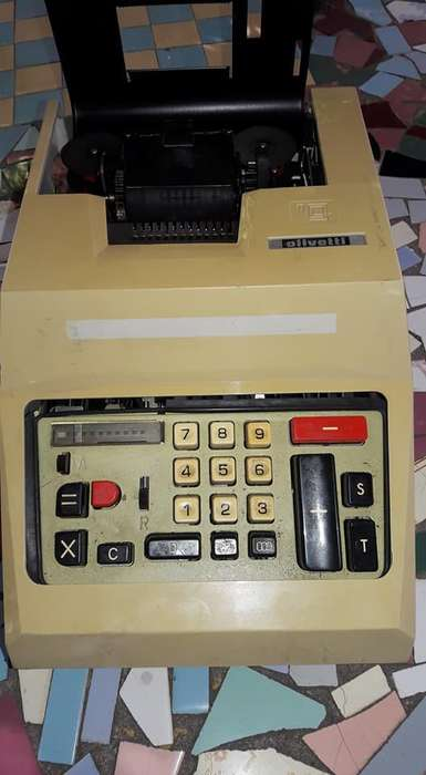 Calculadora Vintage Olivetti Multisumma 20