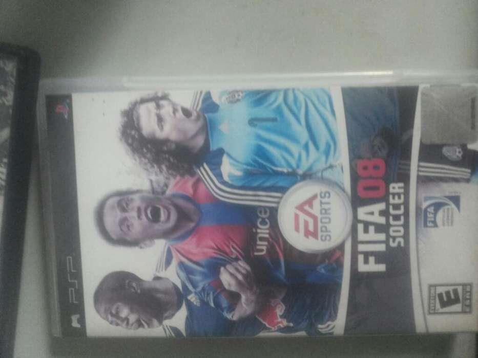 Juego <strong>psp</strong> Fifa 08