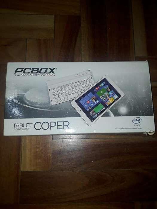 Tablet Pcbox 2en1 con Teclado 8pulgadas