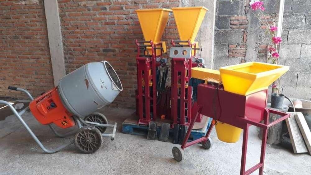 VENDO Máquinas para fabricar ladrillos ecológicos
