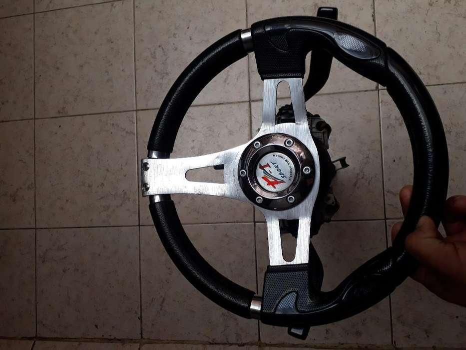 Volante Y Caña Completa Mazda Allegro