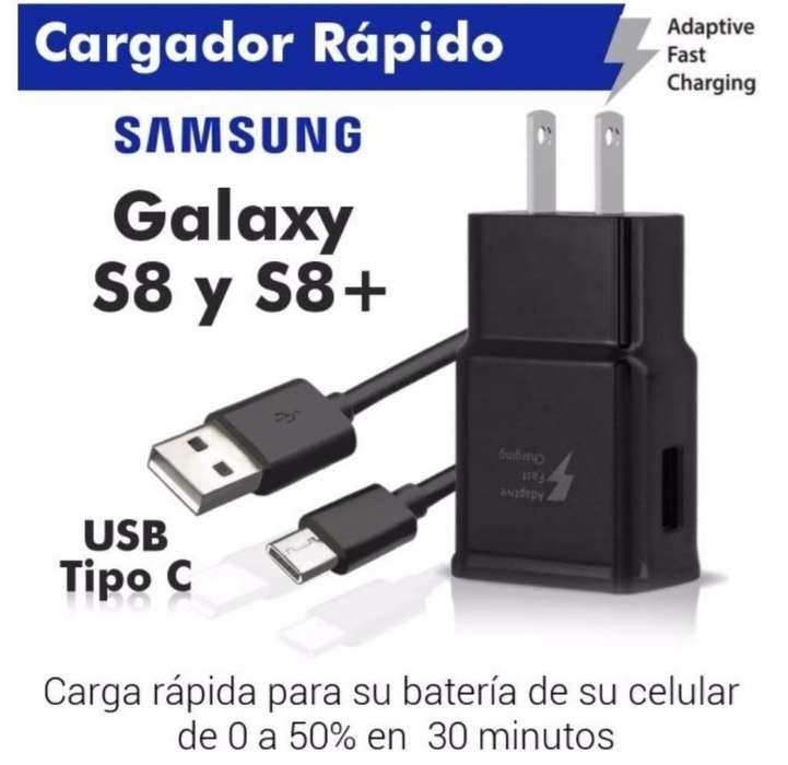 Cargador Carga Rapida Tipo C Note 9 S8 ,etc Original