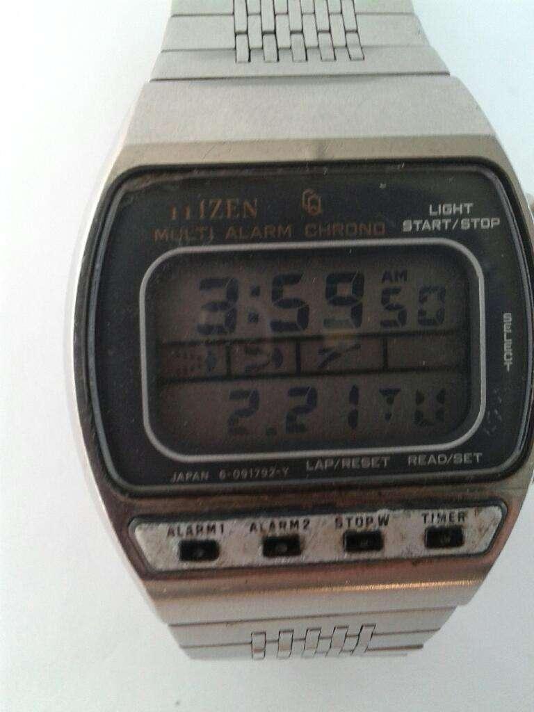 Citizen Multi Mar Chrono Reloj Alarma Del Plata E2WDH9I