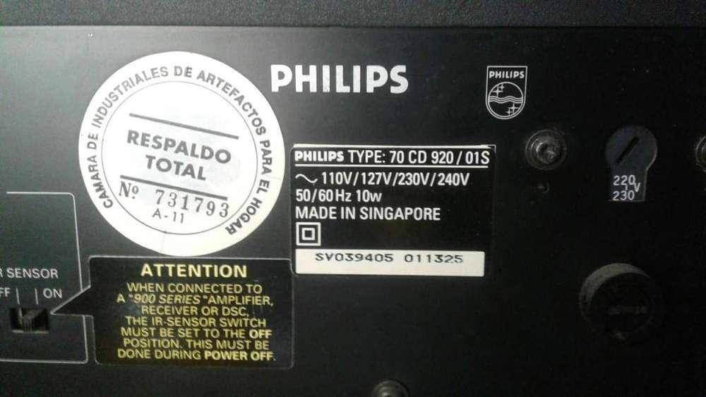 Compactera Philips sin control