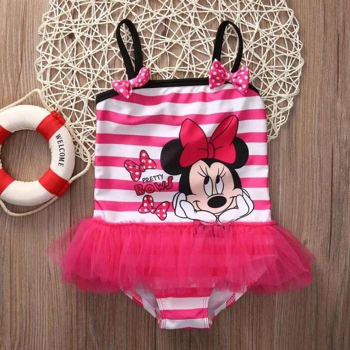 Vestido de Baño de Minnie Mouse