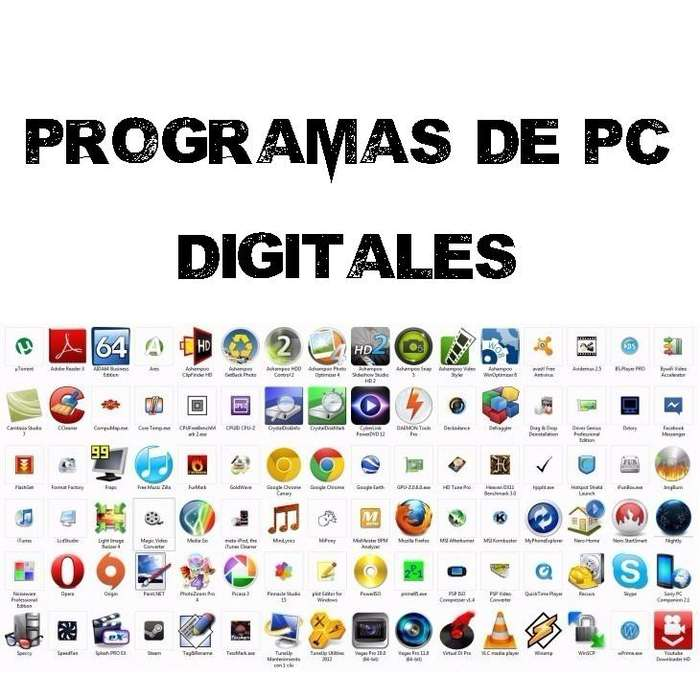 Programas <strong>tecnico</strong>s y Profesionales para PC