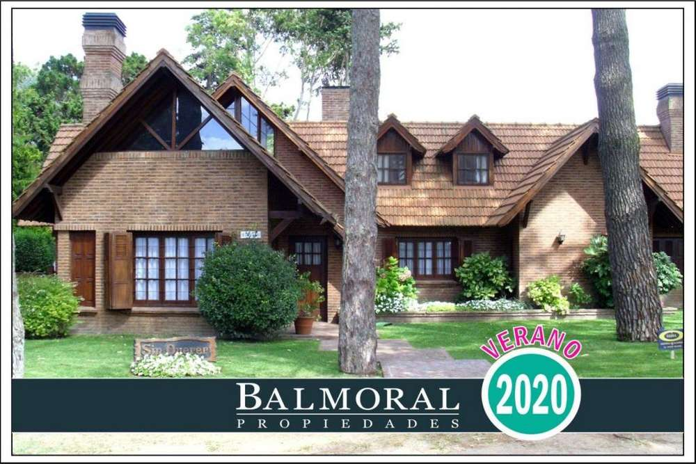 Ref: 8870 - Casa en alquiler, Pinamar, Zona Centro