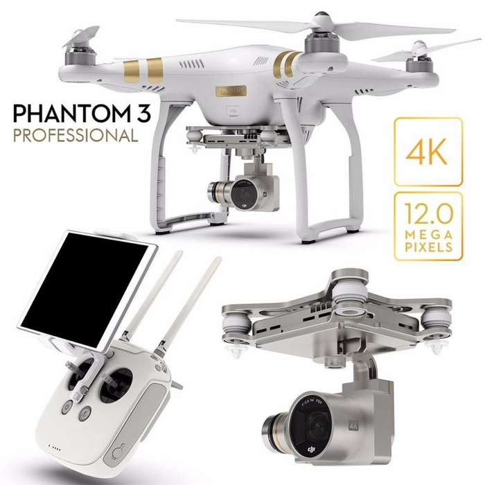 Phantom 3 Pro drone 4K